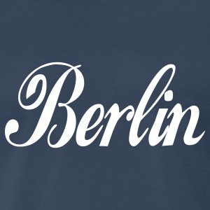 Navy berlin T-Shirts - Men's Premium T-Shirt