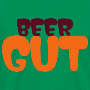 Sage beer gut T-Shirts - Men's Premium T-Shirt