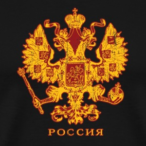 Black Russian Crest T-Shirts - Men's Premium T-Shirt