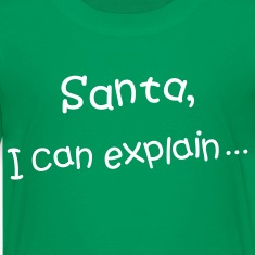 Santa, I can explain Kids' Shirt