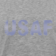 Design ~ USAF distressed logo Heavyweight Tee