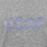 Design ~ USAF distressed logo Heavyweight Tee