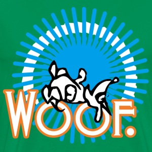 woof. - Men's Premium T-Shirt