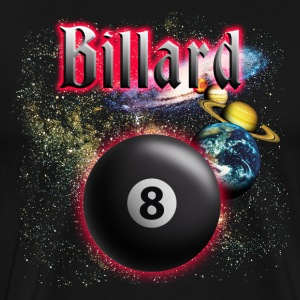 Black billard_space T-Shirts - Men's Premium T-Shirt