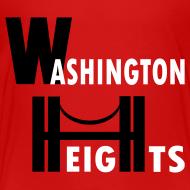 Design ~ KKT 'Washington Heights With Bridge' Toddler Tee, Red