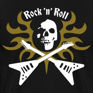 Black rock_and_roll T-Shirts - Men's Premium T-Shirt