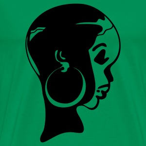 BLACK PRINCESS by THEBADASSTEE @ www.thebadasstee.com - Men's Premium T-Shirt