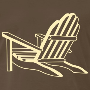 Chocolate Adirondack T-Shirts - Men's Premium T-Shirt