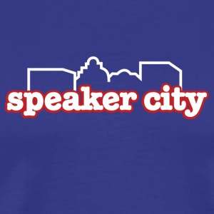 Royal blue Speaker City T-Shirts - Men's Premium T-Shirt