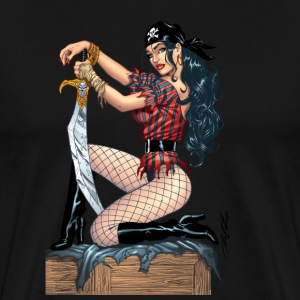 Sexy Pirate T-Shirt by Al Rio - Men's Premium T-Shirt