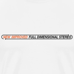 New Improved Stereo - Men's Premium T-Shirt