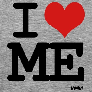Ash  i love me by wam T-Shirts - Men's Premium T-Shirt