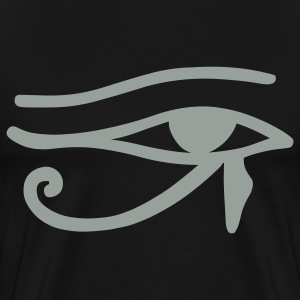 Black Eye of Horus T-Shirts - Men's Premium T-Shirt