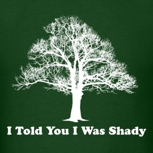Shady Tree Men's Forest Green T-Shirt - Men's T-Shirt