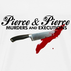 White American Psycho Pierce T-Shirts - Men's Premium T-Shirt