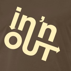 Chocolate In & Out (1c, ENG) T-Shirts