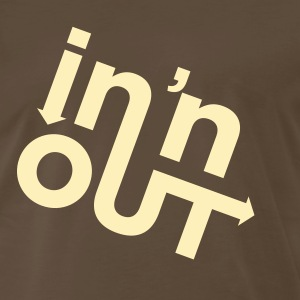 Chocolate In & Out (1c, ENG) T-Shirts - Men's Premium T-Shirt