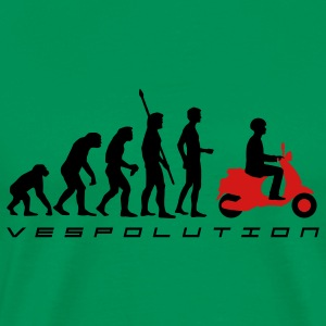 Sage evolution_vespa_b_2c T-Shirts - Men's Premium T-Shirt