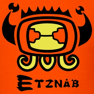 Etznab Tzolkin Maya Art - Men's T-Shirt