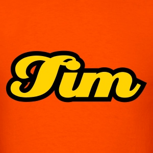 Orange tim T-Shirts - Men's T-Shirt