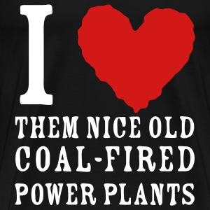 Coal is not the answer - Men's Premium T-Shirt