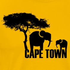 Yellow Cape Town T-Shirts