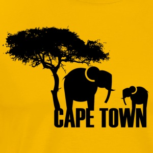 Yellow Cape Town T-Shirts - Men's Premium T-Shirt