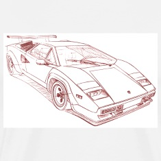 White lambo_countch T-Shirts