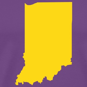 Purple Indiana T-Shirts - Men's Premium T-Shirt