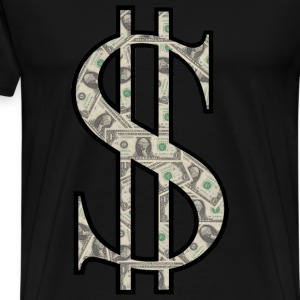 dollar cash - Men's Premium T-Shirt