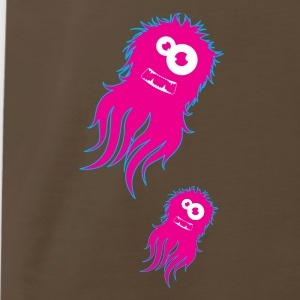 Chocolate Furry Squid  T-Shirts - Men's Premium T-Shirt