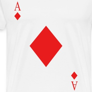 diamond card - Men's Premium T-Shirt