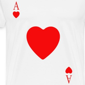 heart card - Men's Premium T-Shirt