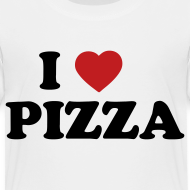 Design ~ Toddler I Love Pizza, White