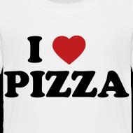 Design ~ Toddler I Love Pizza, White