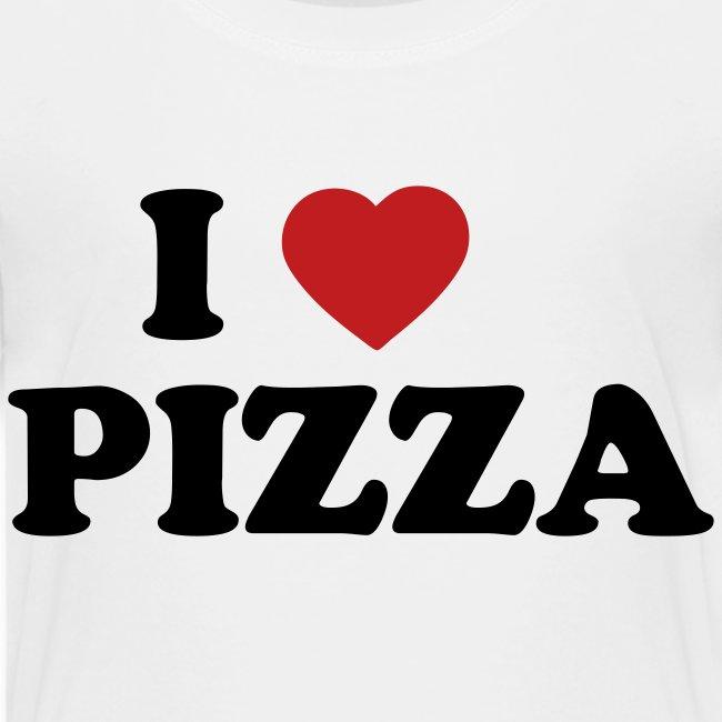 Toddler I Love Pizza, White