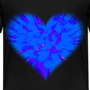 Black heart Toddler Shirts - Toddler Premium T-Shirt