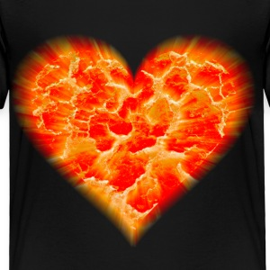 Black exploding heart Toddler Shirts - Toddler Premium T-Shirt