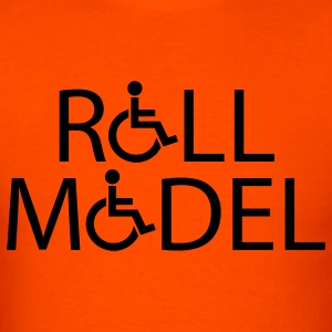 Orange rollmodel T-Shirts - Men's T-Shirt