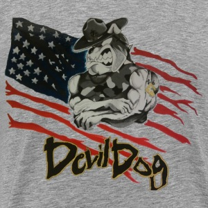 Ash Devil Dog T-Shirts - Men's Premium T-Shirt
