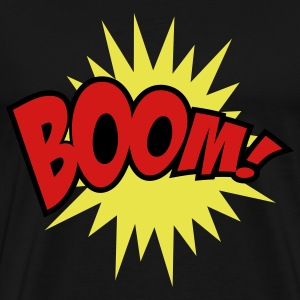 Black Boom T-Shirts - Men's Premium T-Shirt