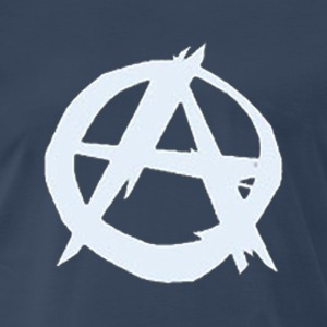 Anarchy [ice white edition] - Men's Premium T-Shirt