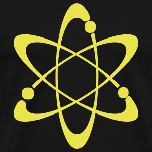 Black Atomic T-Shirts - Men's Premium T-Shirt