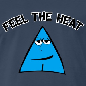 I Love Feel The Heat - Men's Premium T-Shirt