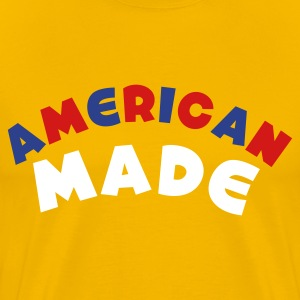 Gold American Made T-Shirts - Men's Premium T-Shirt