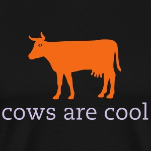 Cows are cool T - Men's Premium T-Shirt