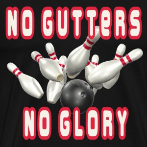 Black No Gutters No Glory T-Shirts - Men's Premium T-Shirt