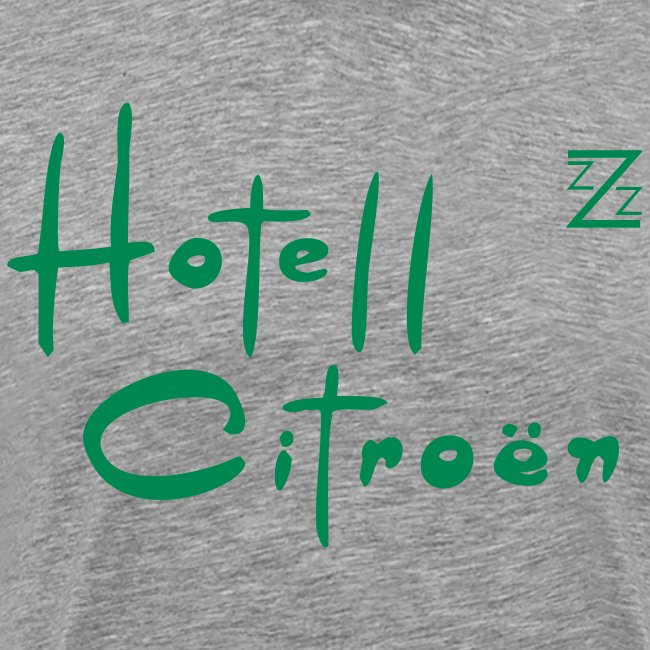now in the US, welcome to Hotel Citroen