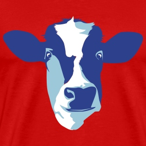 Red cow T-Shirts - Men's Premium T-Shirt