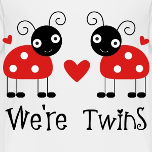 Toddler Ladybug Twins T-shirt - Toddler Premium T-Shirt